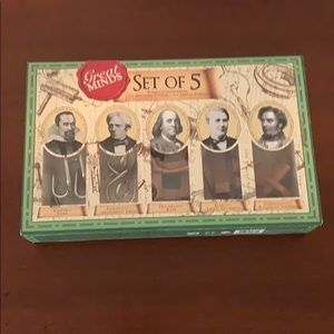 Great minds set of 5 puzzle